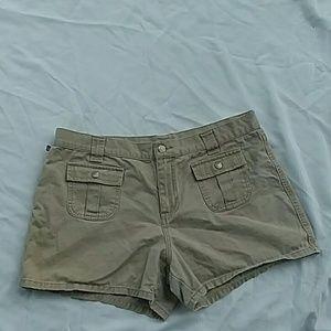 Ralph Lauren Polo Jean Size 14 Shorts Tan